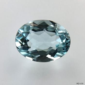 Aquamarin Oval 4,71 kt. 12,8x9,9 mm (AQ-1172)