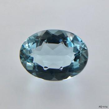 Aquamarin Oval 8,19 kt. 16,2x12,2 mm (AQ-1174)