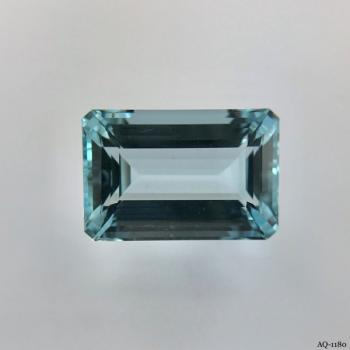 Aquamarin Oktagon 7,59 kt. 14,5x9,7 mm (AQ-1180)