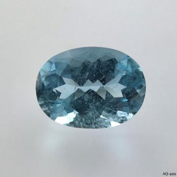 Aquamarin Oval 3,76 kt. 12,0x9,0 mm (AQ-499)