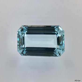 Aquamarin Oktagon 9,60 kt. 15,9x10,5 mm (AQ-541)