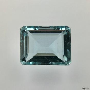 Aquamarin Oktagon 7,09 kt. 13,4x10,5 mm (AQ-573)