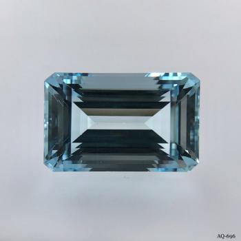 Aquamarin Oktagon 12,17 kt. 17,3x11,0 mm (AQ-696)