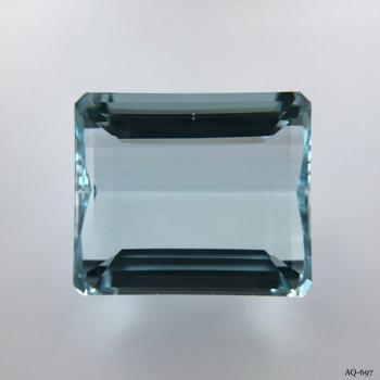 Aquamarin Oktagon 20,63 kt. 17,9x15,4 mm (AQ-697)