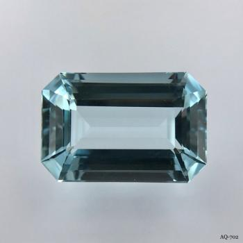 Aquamarin Oktagon 16,74 kt. 20,2x13,5 mm (AQ-702)