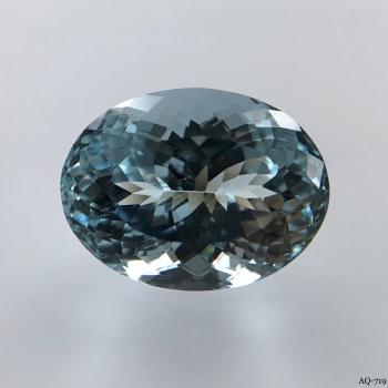 Aquamarin Oval 10,96 kt. 16,4x12,4 mm (AQ-719)