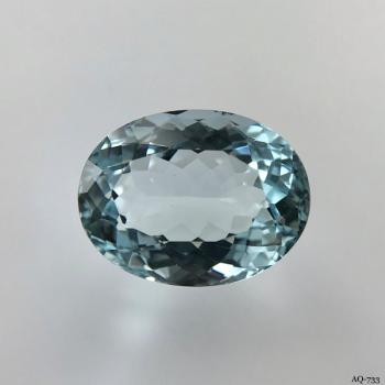 Aquamarin Oval 9,50 kt. 16,0x12,1 mm (AQ-733)