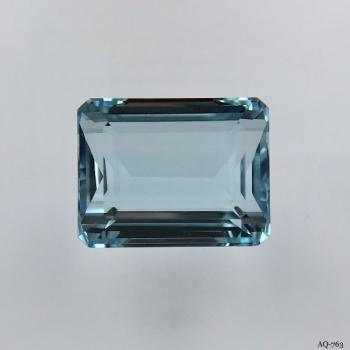 Aquamarin Oktagon 9,60 kt. 14,2x11,0 mm (AQ-763)