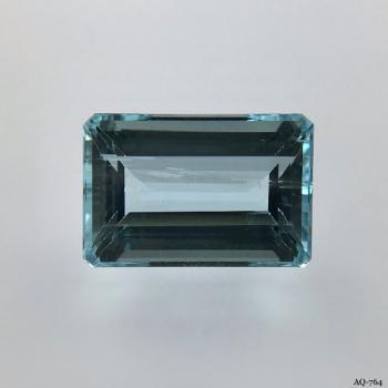 Aquamarin Oktagon 7,66 kt. 14,9x9,9 mm (AQ-764)