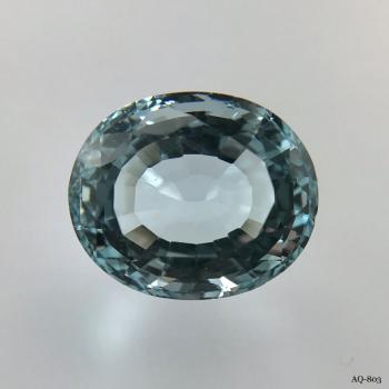 Aquamarin Oval 8,42 kt. 14,0x11,6 mm (AQ-803)