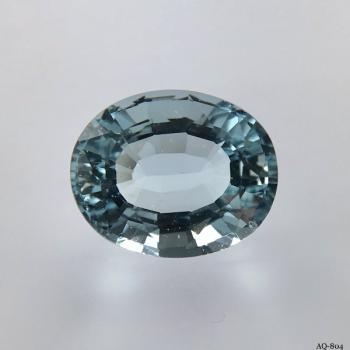 Aquamarin Oval 7,41 kt. 13,8x11,3 mm (AQ-804)