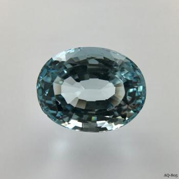 Aquamarin Oval 9,11 kt. 14,6x11,3 mm (AQ-805)