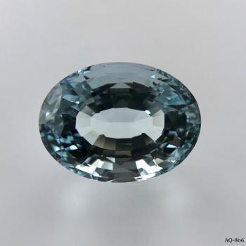 Aquamarin Oval 10,44 kt. 15,8x11,8 mm (AQ-806)