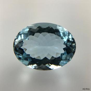Aquamarin Oval 10,75 kt. 17,3x13,3 mm (AQ-809)