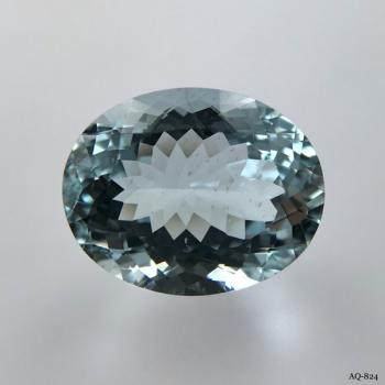 Aquamarin Oval 10,30 kt. 16,3x13,0 mm (AQ-824)