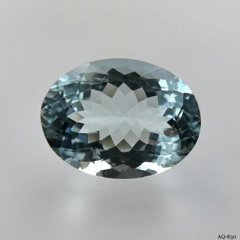 Aquamarin Oval 7,67 kt. 15,2x11,5 mm (AQ-830)