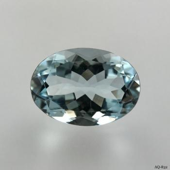 Aquamarin Oval 5,41 kt. 14,0x10,0 mm (AQ-832)