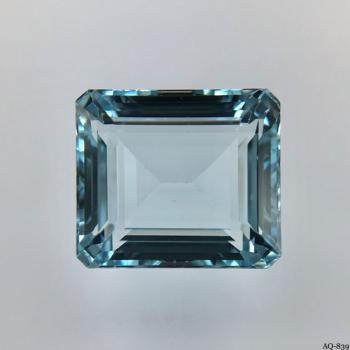 Aquamarin Oktagon 17,44 kt. 16,0x14,0 mm (AQ-839)