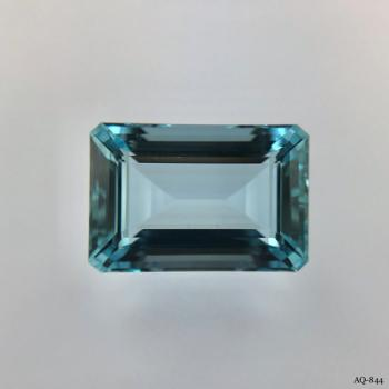 Aquamarin Oktagon 10,82 kt. 16,5x11,2 mm (AQ-844)
