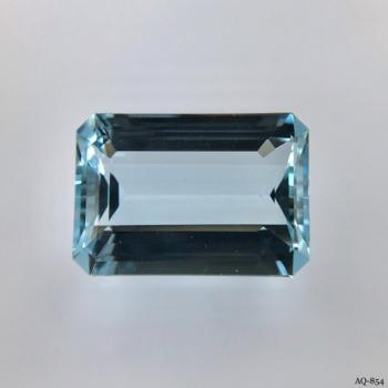 Aquamarin Oktagon 17,10 kt. 20,0x14,0 mm (AQ-854)