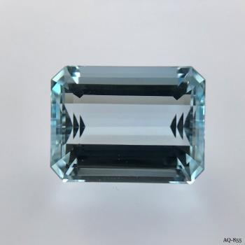 Aquamarin Oktagon 17,59 kt. 18,2x13,8 mm (AQ-855)