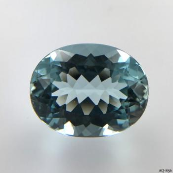 Aquamarin Oval 13,03 kt. 17,9x14,1 mm (AQ-856)