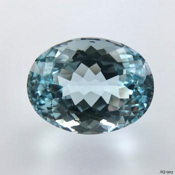 Aquamarin Oval 11,84 kt. 16,5x12,6 mm (AQ-923)