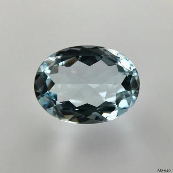 Aquamarin Oval 7,99 kt. 16,1x12,1 mm (AQ-940)