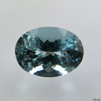 Aquamarin Oval 4,31 kt. 12,4x9,1 mm (AQ-954)