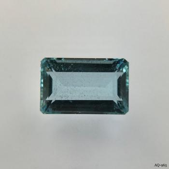 Aquamarin Oktagon 5,48 kt. 13,6x8,7 mm (AQ-965)